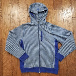 Lululemon Pacific Coast Hoodie Jacket Blue Gray L